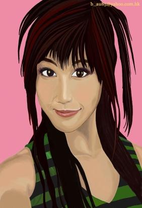 Helena Wong Portrait painting