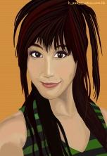 Helena Wong (Orange Background)