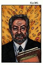Alex Collier, Portrait Painting, Manga style