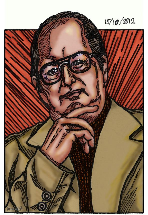 Jordan Maxwell, Portrait, Manga style