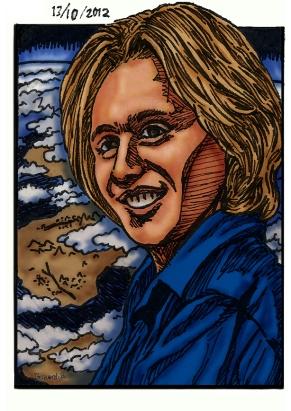 David Wilcock (Manga Portrait)