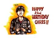 Chris 22nd Birthday