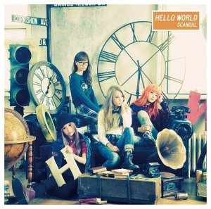 SCANDAL, Hello World, album, cover