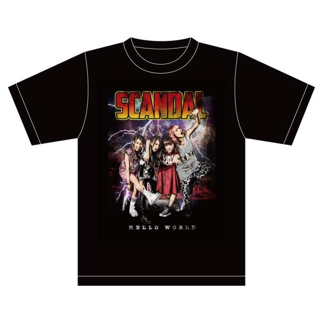 Hello World limited T-Shirt Design of SCANDAL