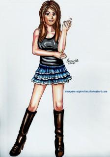 high heel boots, long legs, beautiful, sexy, mini-skirt, slender figure, girl, woman, character design, illustration, manga,