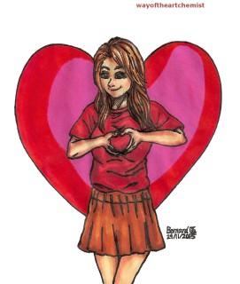 manga, Illustration, girl, design, character design, loving, caring, friend, anime, letraset, promarkers, woman, style, beautiful, pretty, cool, elegance, cute, kawaii, Love,