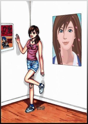 You Create Your Own Reality, BOY, manga style, art, gallery, exibition, girlfriend, model, illustration